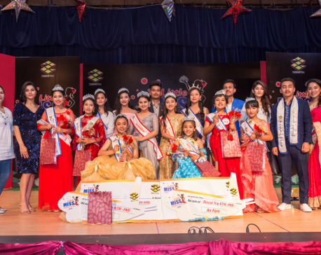 Poonam and Oviya declared 'Miss Little Heritage' Universal
