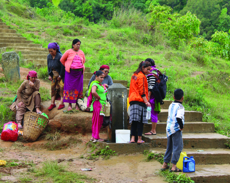 Drinking water woes hit normal life in Baglung Bazar