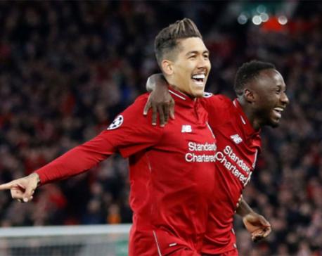 Keita and Firmino give Liverpool 2-0 win over Porto