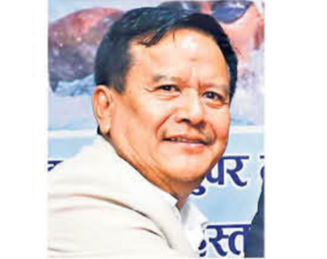 Govt decorating Bhatbhateni owner Gurung with high state honor