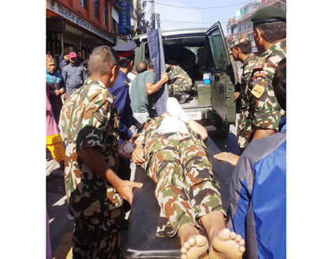 Nepal Army soldier injured while defusing IED in Pokhara