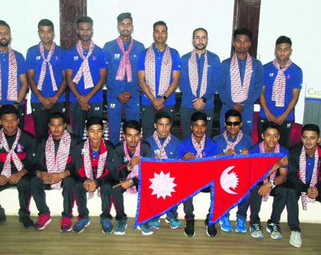 Confident Nepal U-19 heads for Malaysia