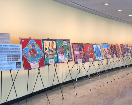 Exhibition held in New York to showcase richness of Mithila art