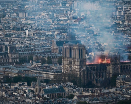France launches global contest to design new Notre-Dame spire