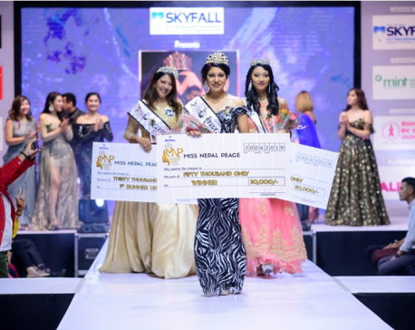 Reshma Prasai bags Miss Nurse title