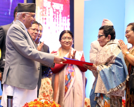 PM Oli vows to increase social security allowances to senior citizens