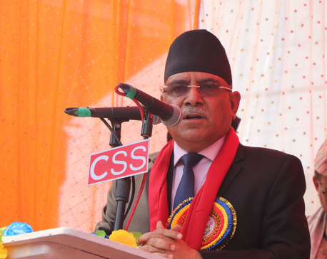 Unification reaching final stage: CPN Chair Dahal