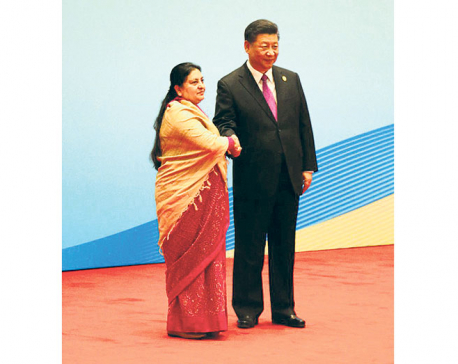 Prez Bhandari for Trans-Himalayan Connectivity under BRI