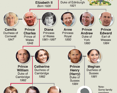 Infographics : Prince Harry and Meghan Markle's royal baby