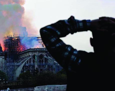 Emotion of Notre Dame