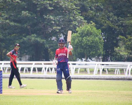 Sarraf, Paudel star in Nepal's dominant first win