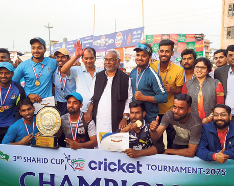 Sonnet lifts 3rd Shahid Cup title