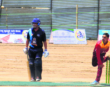 Dhamala shines for Army in Karnali Premier League