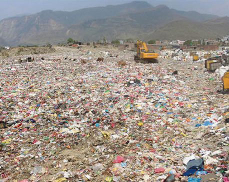 Province 5 using rivers as dumping sites