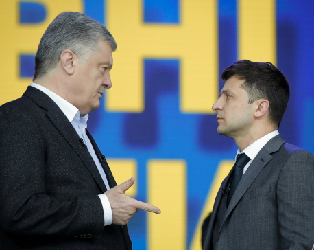 Ukraine quiet ahead of presidential election