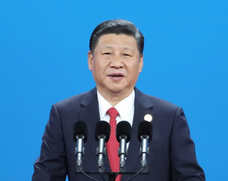 Chinese president calls for peaceful coexistence of civilizations