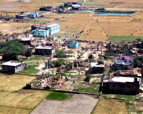 Bara-Parsa Storm: Two provinces to provide Rs. 10 million each