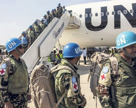 'Nepali troop will be in Libya as long as UN office stays there'