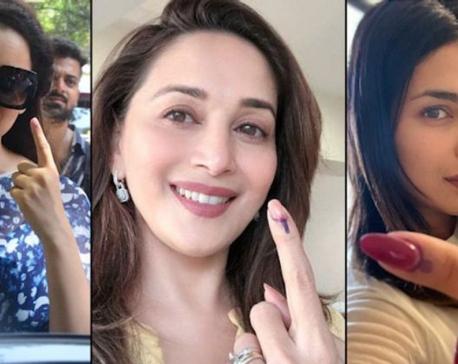 Priyanka Chopra, Aamir Khan among early voters in Mumbai