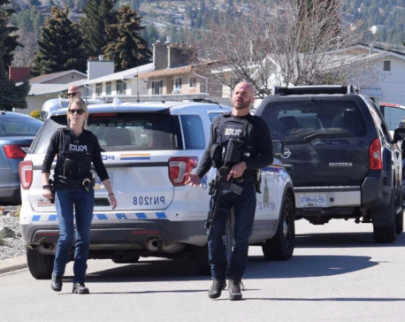 Four dead after Canada shootings, man in custody: police