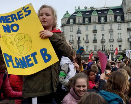 'Climate before cash': young Norwegians call time on oil industry
