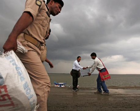 Boats, votes and booze - India's massive general election