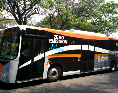 Govt to operate 300 electric buses in Kathmandu and major cities