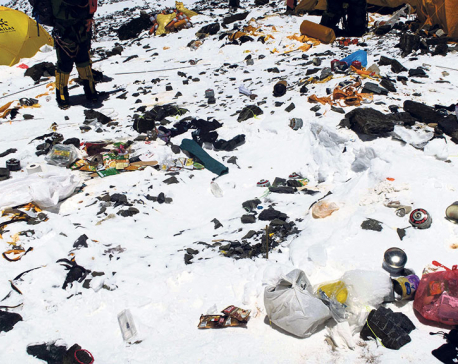 Three dead bodies emerge from Everest ice