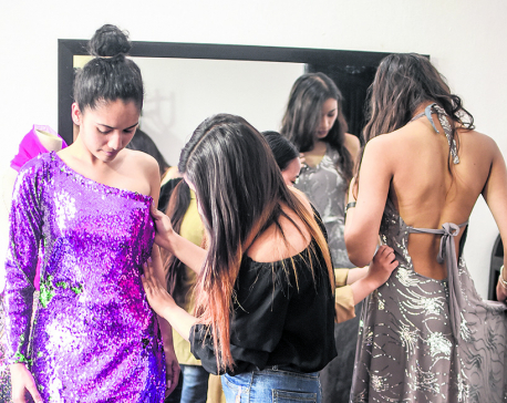 A young fashion designer's debut collection