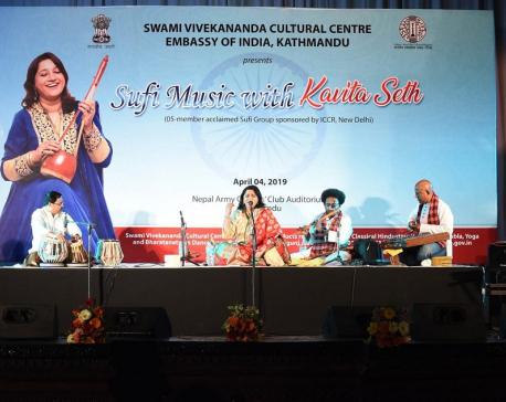 Kavita Seth enthralls music aficionados in Kathmandu