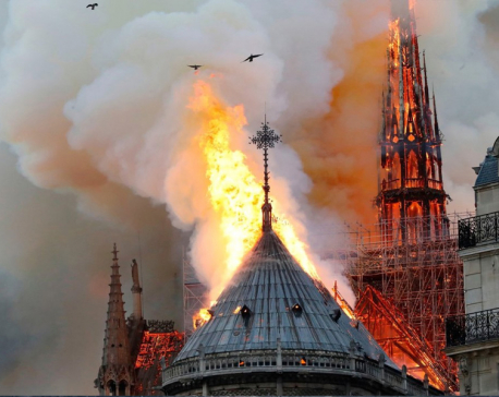 Fire guts Notre-Dame Cathedral in Paris; Macron pledges to rebuild