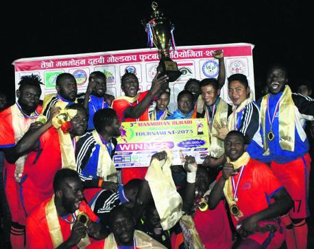 Dauphins lift Duhabhi Gold Cup