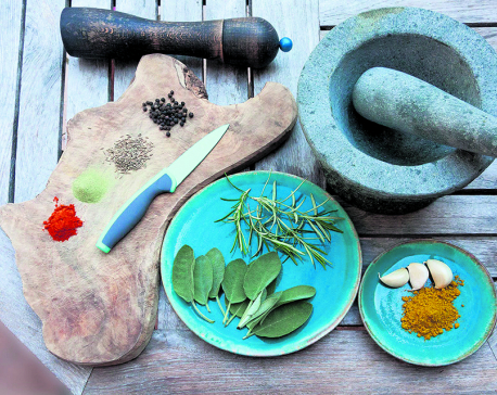 Herbs & spices that heal