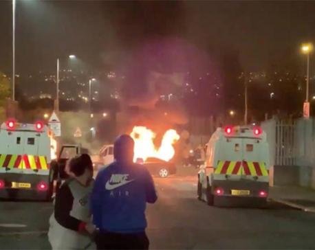 Off-duty journalist shot dead during Northern Ireland riot