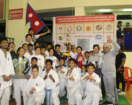 Nepal winner with 20 gold medals