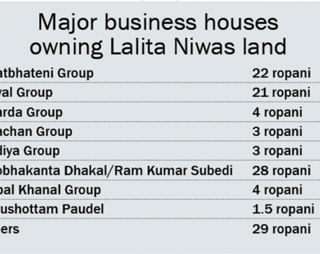 Big businesses involved in Lalita Niwas land scam