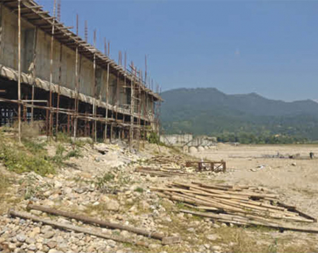 Construction of bridge over Kamala River stalled for years