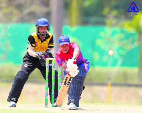Nepal posts 235 runs target before Thailand
