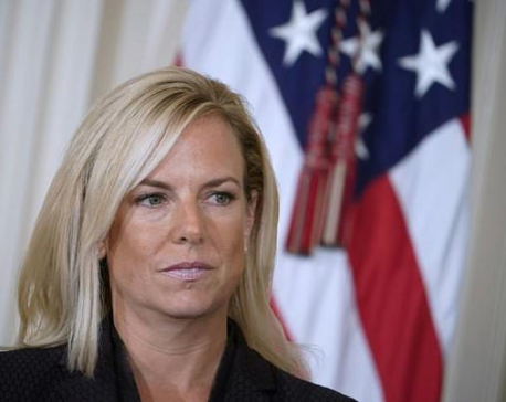 U.S. Homeland Security Secretary Nielsen resigns amid Trump anger over border