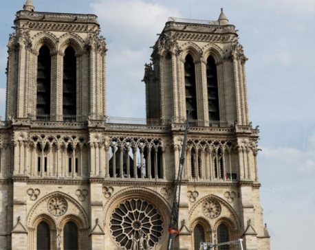 Paris streets near Notre Dame to be decontaminated from lead