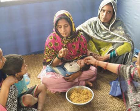 Mothers breastfeeding newborns on empty stomachs