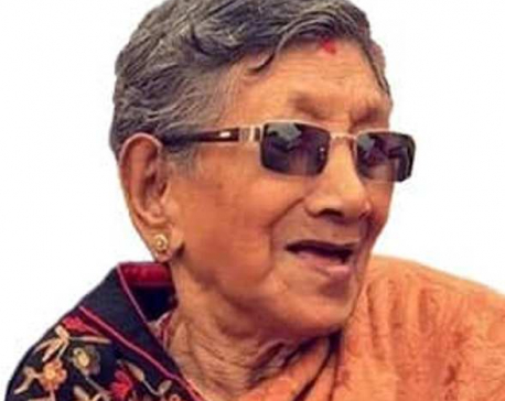 Krishna Devi, mother of musician Nhyoo and Pavitra passes away