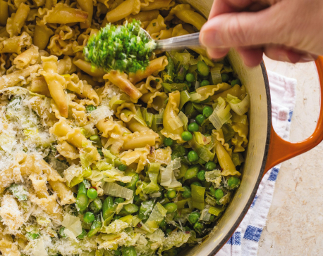 Rethinking pasta primavera to make it taste like spring