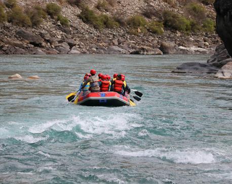 Rafting service begins in Badigad rivulet