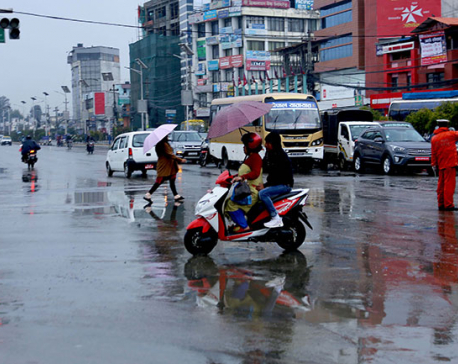Light rainfall, thunderstorm likely for next three days: Weather Forecasting Division