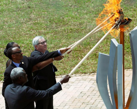 Rwanda honors those killed in genocide 25 years ago