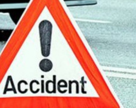 Two killed in road accident