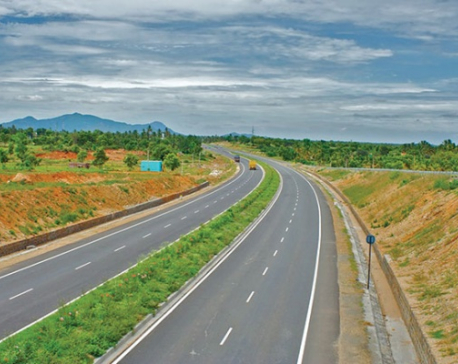 61.9 km rural road reconstructed in four years