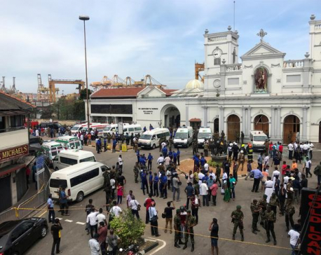 Easter Day bomb blasts kill more than 20 in Sri Lankan churches, hotels