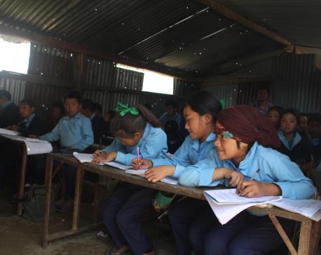 Students of Kushma schools deprived of textbooks